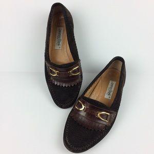 Lorenzo Banfi Men's brown leather loafers